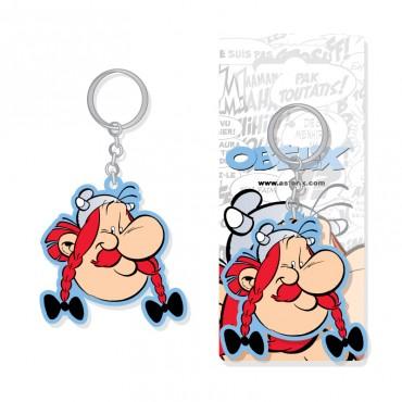 Obelix PVC Asterix Keyring