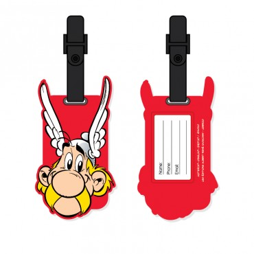 Fun PVC Luggage Tag - Asterix