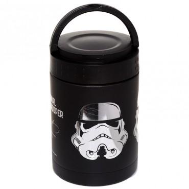 Star Wars Stormtrooper Stainless Steel Insulated Food Snack/Lunch Pot 500ml