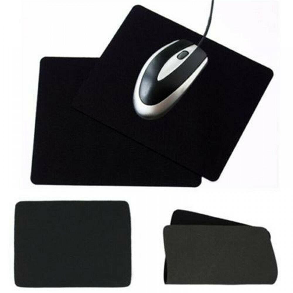 Anti-slip Desktop Laptop Gaming Black Fabric Mouse Pad