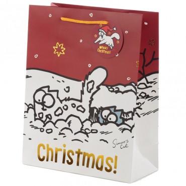 Simon's Cat Christmas 2020 Large Gift Bag