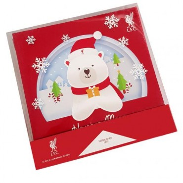 Liverpool FC Christmas Cards