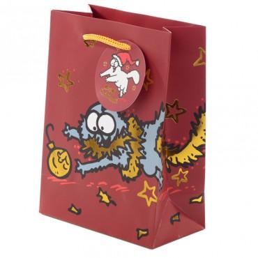 Simon's Cat Christmas 2020 Medium Gift Bag