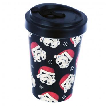 Bamboo Composite The Original Stormtrooper Christmas Screw Top Travel Mug