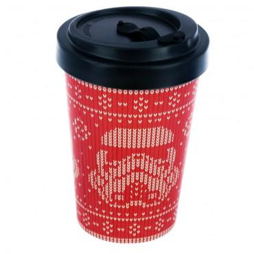 Bamboo Composite The Original Stormtrooper Red Christmas Screw Top Travel Mug