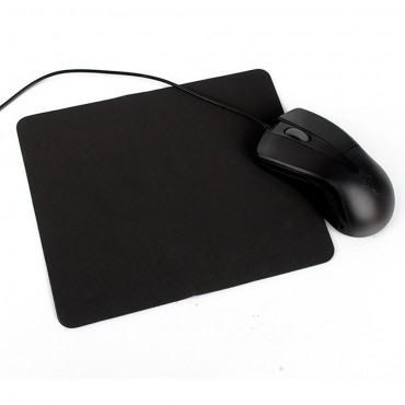 Anti-slip Desktop Laptop Gaming Black Fabric Mouse Pad