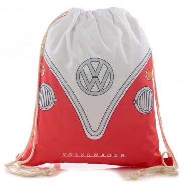 Volkswagen VW T1 Camper Bus Red  Gym Bag