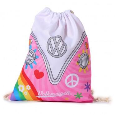 Volkswagen VW T1 Camper Bus Summer Love Gym Bag