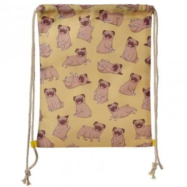Mopps Pug Gym Bag