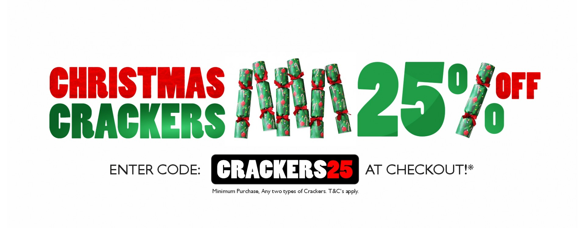 Christmas Crackers Offer