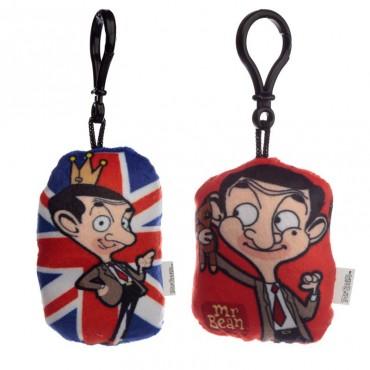 Mr Bean Plush Sound Keyring