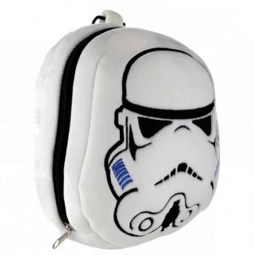 Star Wars Stormtrooper Relaxeazzz Plush Round Travel Pillow & Eye Mask Set