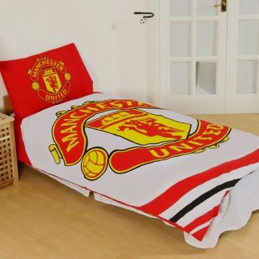 Manchester United FC Single Duvet Set PL