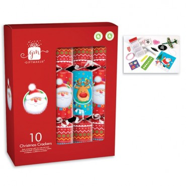 Novelty Christmas Crackers - 30cm (10pk)