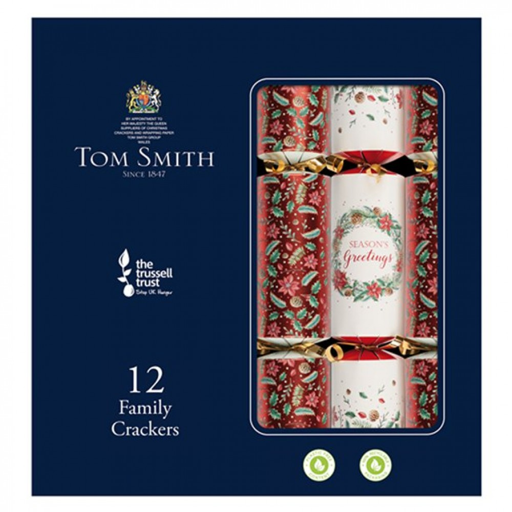 Tom Smith Red Premium Christmas Crackers (each)