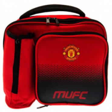 Manchester United FC Lunch Bag and Bottle Holder