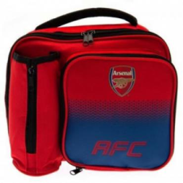 Arsenal FC Lunch Bag and Bottle Holder