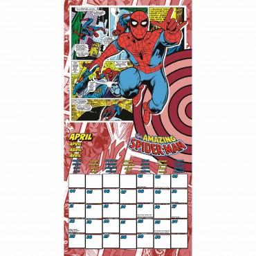 Marvel Comics Calendar 2022