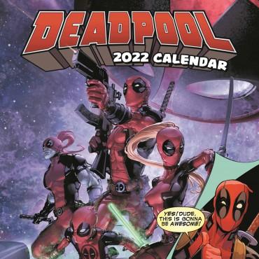 Deadpool Calendar 2022