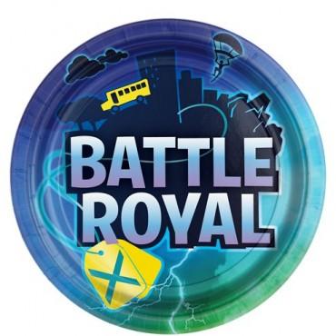 Battle Royal Paper Plates - 23cm (8pk) 552412