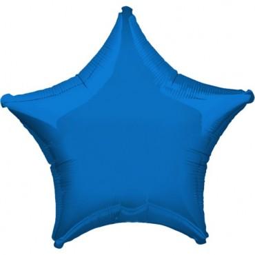 """Blue Star Balloon - 19"""" Foil - unpackaged (each) 3059202"""