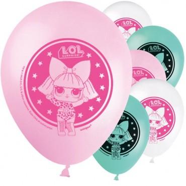 "L.O.L Surprise Balloons - 12"" Latex (8pk) 79125"
