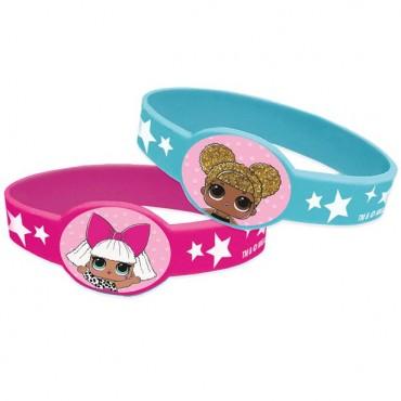 L.O.L Surprise Rubber Bracelets (4pk) 79128