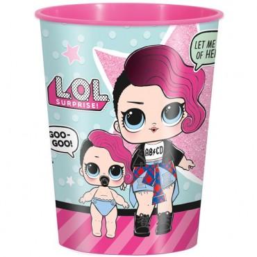 L.O.L Surprise Plastic Favour Cup - 455ml