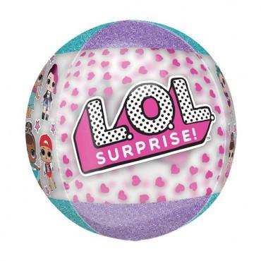 """L.O.L Surprise Orbz Balloon - 16"""" Foil"""