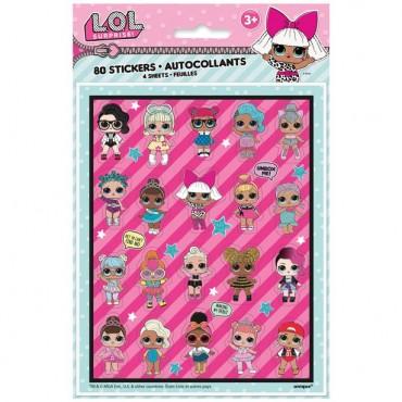 L.O.L Surprise Stickers (4pk) 79119