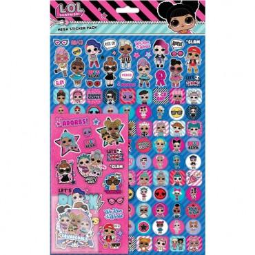 L.O.L Surprise Mega Sticker Pack (150pc)