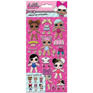 LOL SurpriseDress Up Stickers (each)