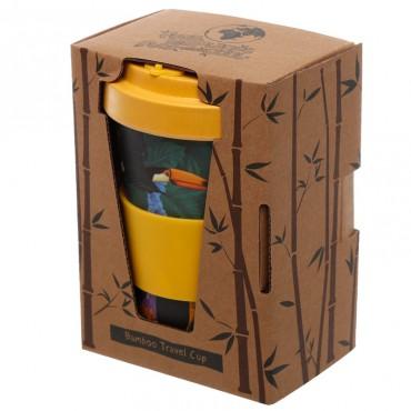 Toucan Party Travel Mug - Bamboo Composite