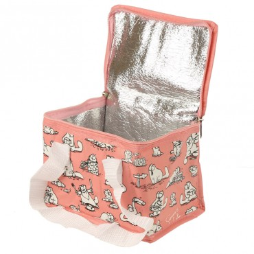 Simon's Cat Lunch Bag - Pink