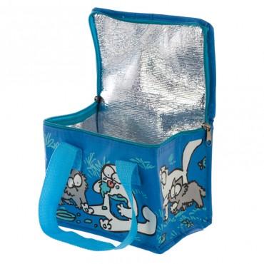 Simon's Cat Lunch Bag - Blue