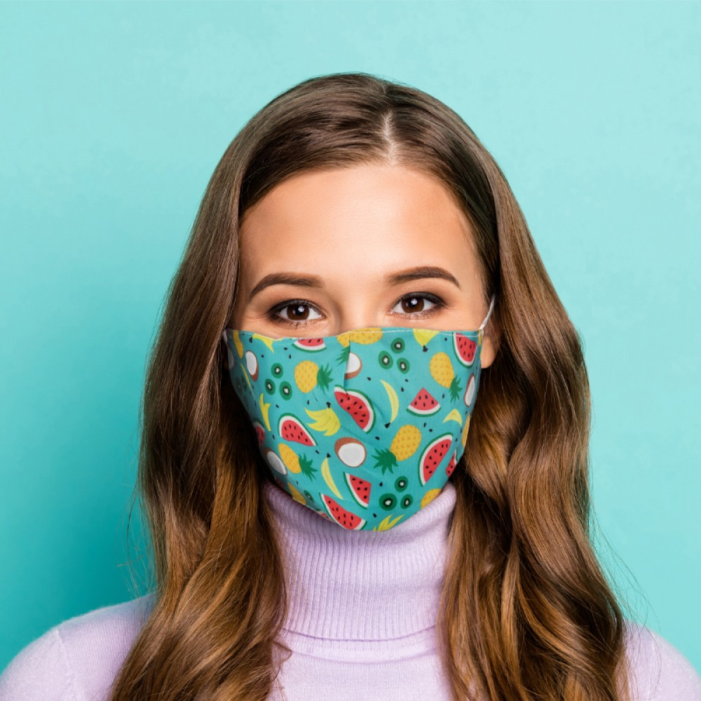 Tropical Reusable Face Covering - Large
