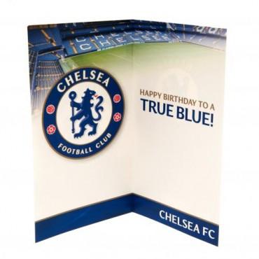 Chelsea FC Birthday Card No 1 Fan