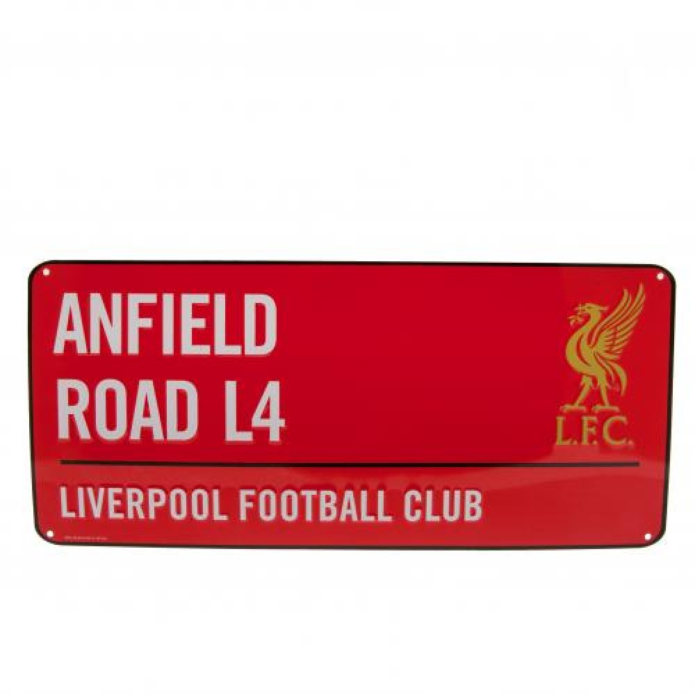 Liverpool FC Colour Street Sign