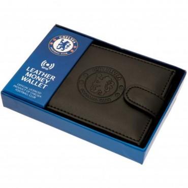 Chelsea FC RFID Anti Fraud Leather Wallet
