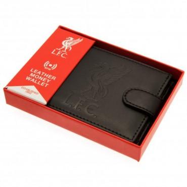 Liverpool FC RFID Anti Fraud Leather Wallet