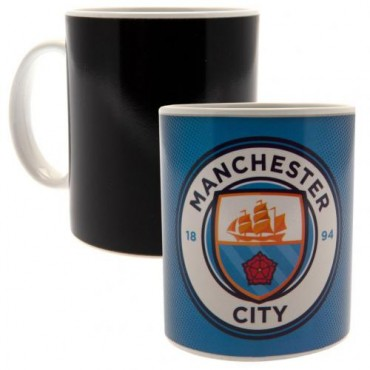 Manchester City FC Heat Changing Ceramic Mug