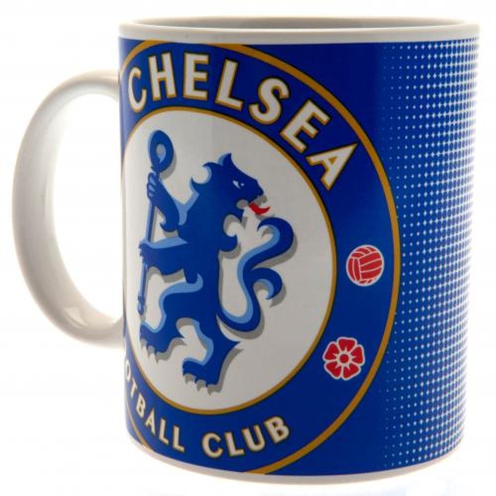 Chelsea FC Large Crest Ceramic Mug HT