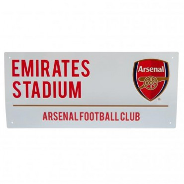 Arsenal FC Street Sign