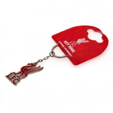 Liverpool FC Crest Keyring