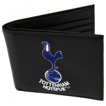 Tottenham FC Crest Embroidered PU Leather Wallet