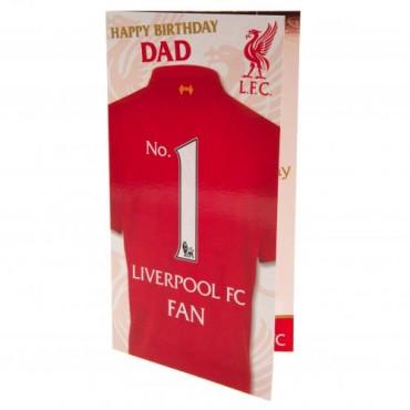 Liverpool FC Birthday Card Dad
