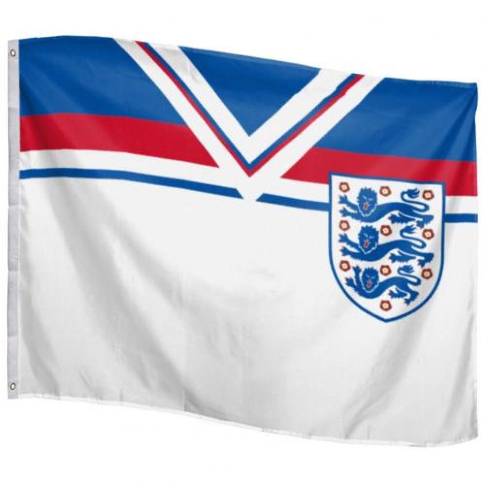 England FA Giant Flag 1982 Retro