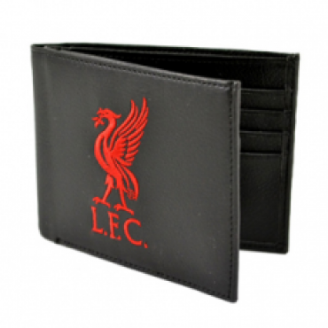 Liverpool FC Crest Embroidered PU Leather Wallet