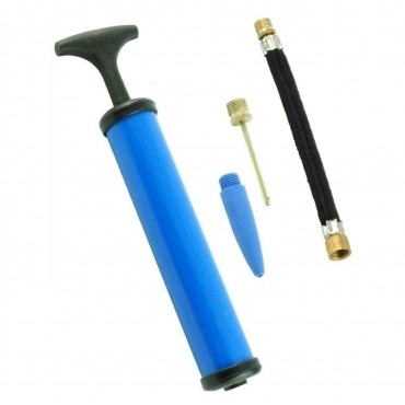 Hand Air Pump Toy Football Bike Tyre Inflating Pump with Needle